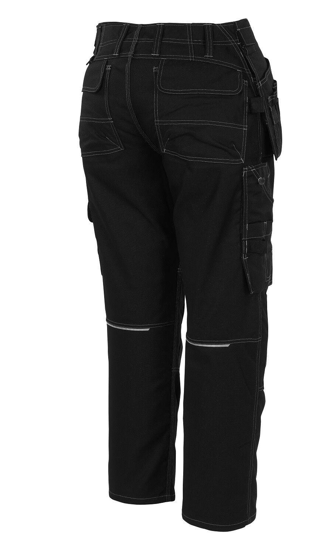 Mascot pantalon ronda Moleskine taille 50 noir longue Cordura Bergschuhe Cordura longue kniebesatz b345a9