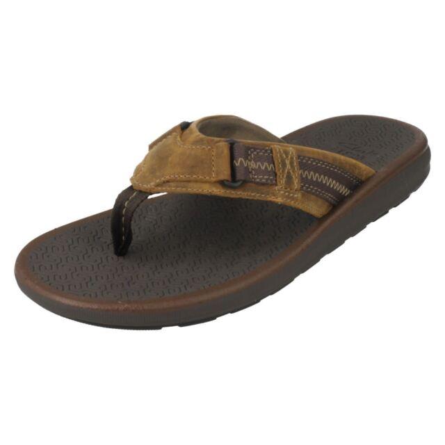d98fa880a6ff Men s Clarks Sandals Kernick Beach Tan G 6 for sale online