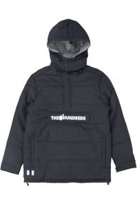 THE-HUNDREDS-DAILY-PUFFER-ANORAK-JACKET-BLACK