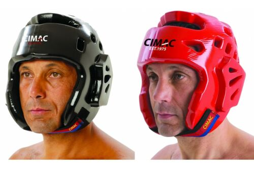 Cimac Dipped Foam Kickboxing Head Guard Martial Arts Karate Taekwondo Headguard