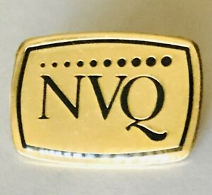 NVQ-National-Vocational-Qualification-Pin-Badge-Rare-Vintage-H3