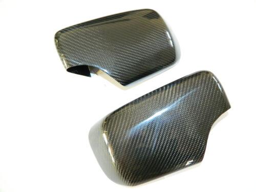 Carbon Spiegelkappen Spiegel Cover Kappen Mirror stick on passt für BMW 3er E46