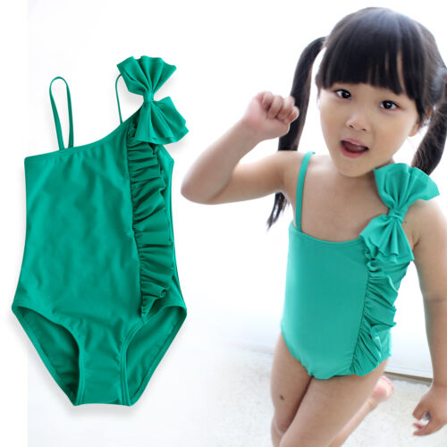"VaenaitBaby Toddler Kids GirlsTankini Bikini bathing suit /""Aloha Green/"" 12M-5T"