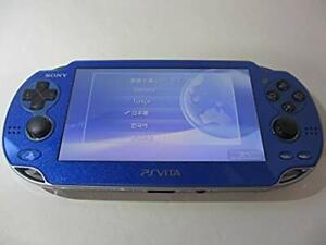PS Vita Sapphire Azul PCH-1000 Modelo ZA04 Wi-fi Solo Consola De Juegos Japón Usado