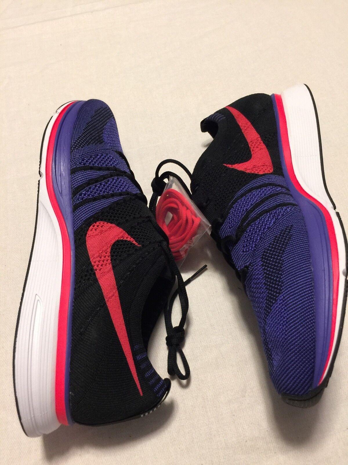 Nike Flyknit Trainer Persian purple Siren Red Purple SZ 14 NO BOX TOP AH8396-003