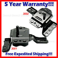 L787 Fits: 1996-2004 Ford Mustang 4.6l Front Left & Right Motor Mount Set 2pcs