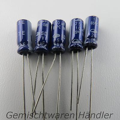 5x Elko 4,7 µF 35V Kondensator Elektrolytkondensator mF uF SAMWHA Capacitor