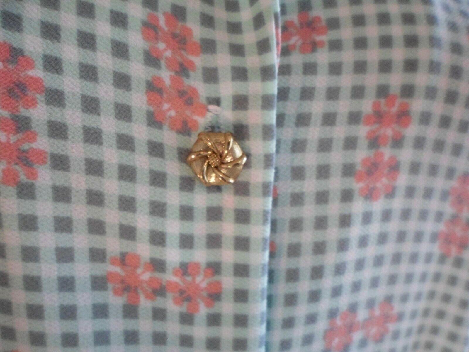 Vtg 70s Breli Originals  Belted Shirt Dress~Mint … - image 3