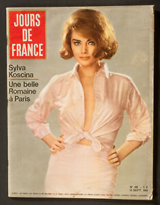 039-JOURS-DE-FRANCE-039-VINTAGE-MAGAZINE-SYLVA-KOSCINA-COVER-14-SEPTEMBER-1963