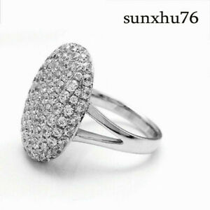 Women-S925-Silver-Jewelry-Ring-Engagement-Wedding-Ring
