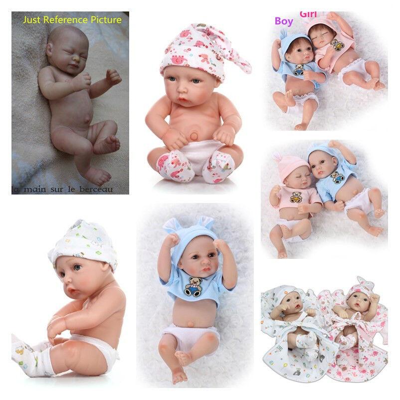 11  RINATO BABY SILICONE GIRL BOY Bambola realistica arto anatomicamente corretta Regalo