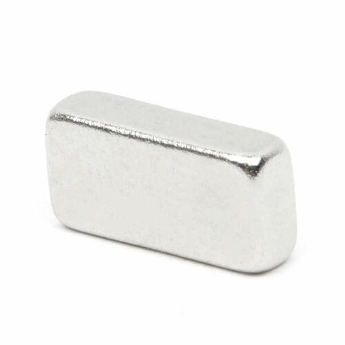 50 tlg Rechteckig Starke Neodym Magnete N52 NdFeB Permanentmagnet 10 x 5 x 3mm