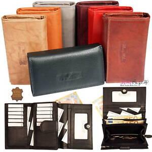 XXL-Top-Modell-Damen-Geldboerse-Geldbeutel-Portemonnaie-Portmonee-Leder-12-Karten