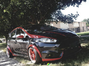 Ford Fiesta Fender Flares Jdm Wide Body Kit 50mm 2 0 70mm 2 75