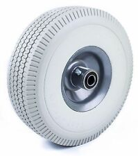 2 Pcs Flat Free Hand Truck Wheel 410350 4 Tire 58 Bearing Wffgr10 2