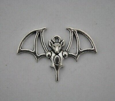 kleiner Kettenanhänger Fledermaus 35 x 25mm Anhänger Halsband Gothic Bat