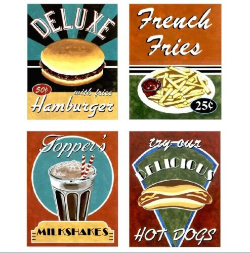 5001# 4 Cafehaus-Café affiches-Sélection-Maison de Poupée-Poupée-M 1zu12