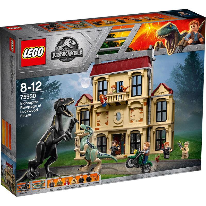 Lego Jurassic World indoraptor Rampage en Lockwood Estate 75930 Nuevo
