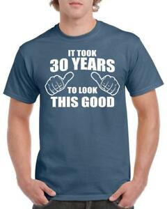 21st-30th-40th-50th-60th-70th-80th-Birthday-Gift-Fun-T-Shirt-Took-Years-Style-1