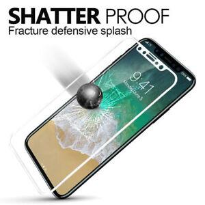 Apple-iPhone-X-10-3D-Curvo-Blanco-Completo-Protector-de-Pantalla-de-Vidrio-Templado-EDGE
