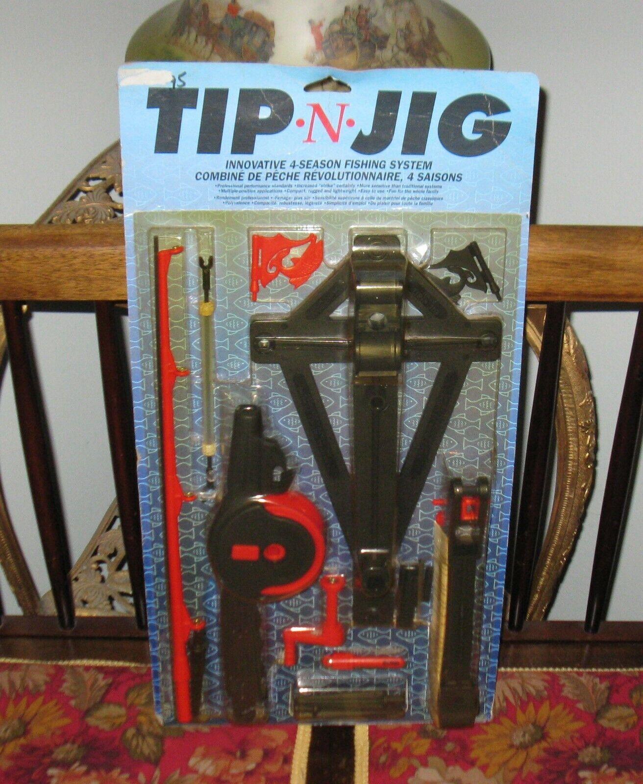Tip -N- Jig ( Jigger ) Innovation 4-Season Fishing System MB FREE SHIPPING