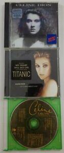 Celine Dion CD Bundle For Music Titles SEE DESCRIPTION FOR TITLES