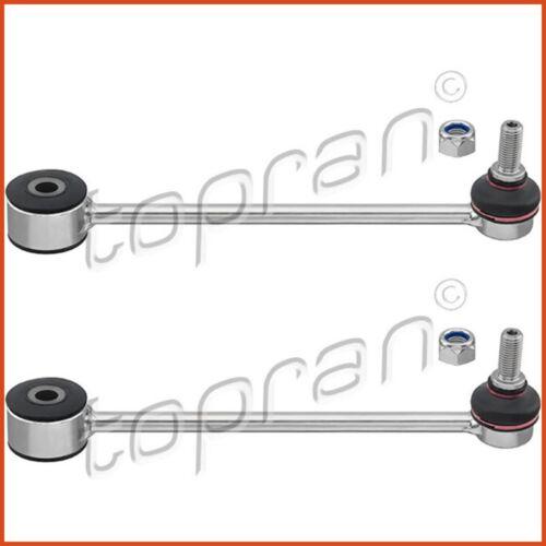 2 x TOPRAN couplage tige pendulaire poteau Stabilisateur Set Arrière VW 3837630