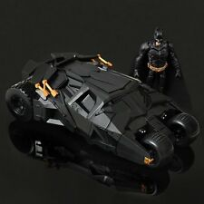 DC The Dark Knight BATMAN BATMOBILE Tumbler BLACK CAR Vehecle Toys With Figure