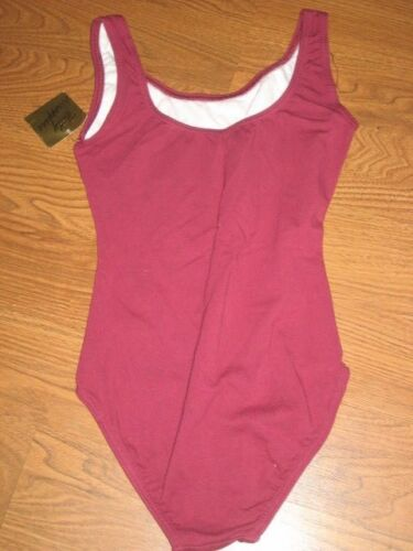 Body Wrappers Women Tank DANCE Cotton LEOTARD 6 colors to choose from VL 315 NWT