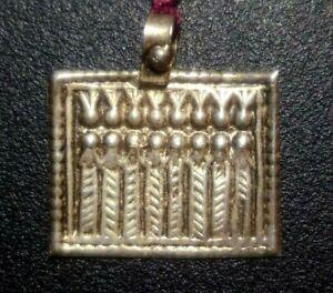 Silver Goddess Charm, Rajasthan (India)
