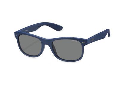 100% Vero Occhiali Da Sole Polaroid Polarizzati Pld 1015/s Blu Grigio Polarizzato X03/c3