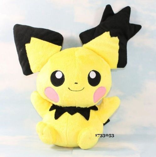 """Cute Pokemon Pichu Plush Soft Toy 12/""""//30cm Stuffed Animal Doll Gift #New"""