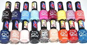 Set Of 2 Rimmel London Dries In 60 Seconds Nail Polish Choose Your ...