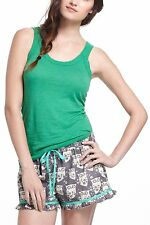 ANTHROPOLOGIE Basic Layering Tank L Emerald Green Alt Katherine Elena Gilbert