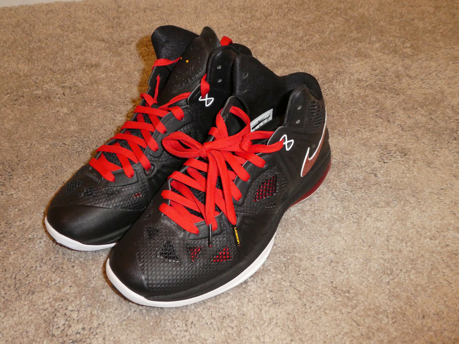 Nike Lebron 8 P.S. shoes mens new 441946 001 sneakers defect size 10