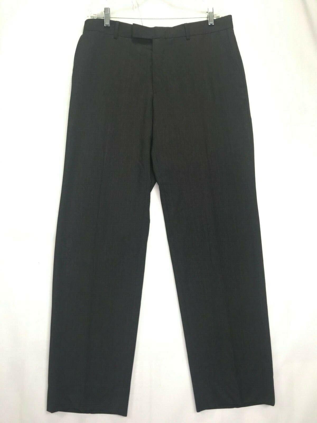 Mens Hugo Boss James Brown Dress Pants SIZE 34Rx3… - image 1