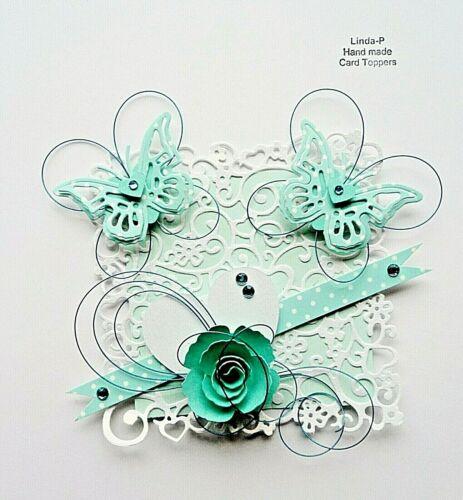 3 Colores Lista de multi 3D con Cable Diseño Tarjeta Artesanía Topper GEN 28