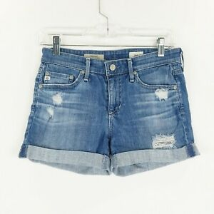 AG-Adriano-Goldschmied-Womans-Denim-Shorts-Sz-24-The-Hailey
