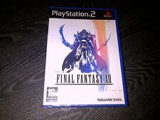 NEW FACTORY SEALED TEARSTRIP Final Fantasy XII (12 1st Edition PlayStation 2 PS2