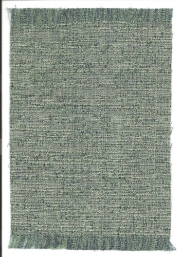 "Dollhouse mini 1:12 self fringed textured rug in shades blue 5 3//4/"" x 8 3//4/"""