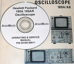 HP-180A-180AR-OSCILLOSCOPE-OPERATING-amp-SERVICE-MANUAL