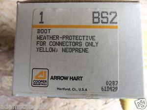 New Cooper Industries BS2 Boot Weather-Protective Neoprene Yellow