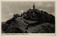 Leuchtenburg bei Kahla Thüringen DDR Postkarte 1951 datiert Blick auf die Burg