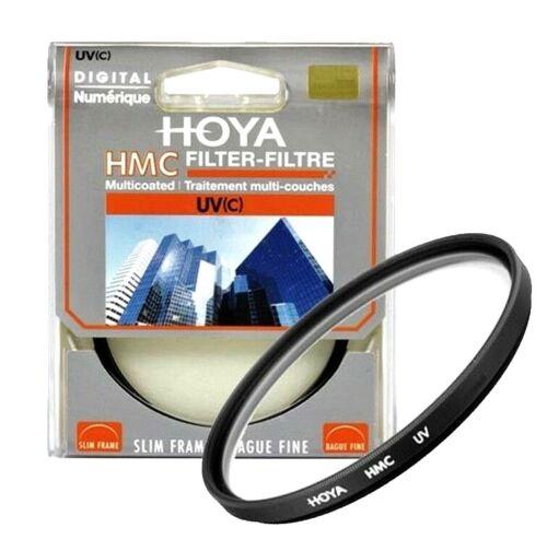 Genuine Hoya 46mm HMC UV Lente Filtro Coated GLASS Multi protettore Japan Made.