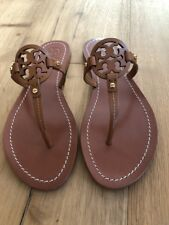 5ea292a3e4f4 item 1 NWB Tory Burch Mini Miller Veg Leather Thong Sandals Royal Tan Size  8 -NWB Tory Burch Mini Miller Veg Leather Thong Sandals Royal Tan Size 8