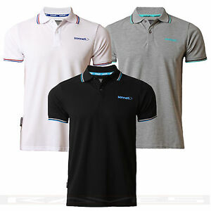 Mens-Sonneti-Pique-Polo-T-shirt-Summer-Short-Sleeve-Top-039-City-Road-039