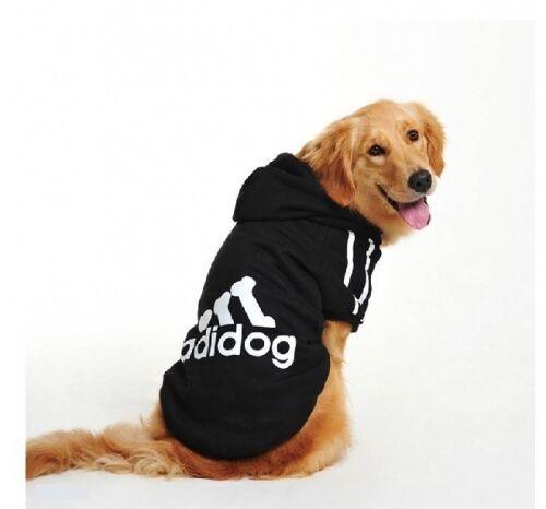 New Apparel Pet Dog Cat Big Dog Large Sweater Hoodie Coat Warm Costume Clothes