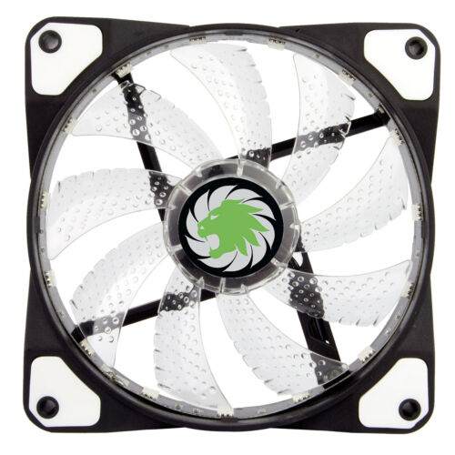 4 x Pack of Game Max Storm Force RGB 12cm Fan LED 4 Pin 3 16.8 Mill Colours