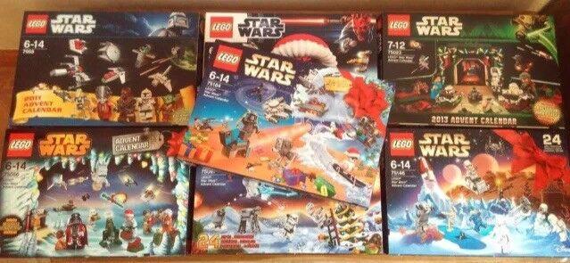 Carnaval ultime, le prix ultime Lego Star Star Star Wars ADVENT CALENDAR 2012,2013,2014,2015,2016,2017 Jour Suivant   De Gagner Une Grande Admiration  7f0a4d