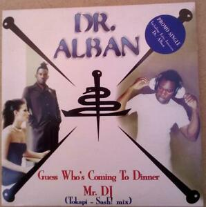 Dr.Alban –Guess Who's Coming To Dinner / Mr.DJ CD single Promo
